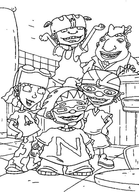 Rocket Power Coloring Pages amazing coloring pages rocket power coloring pages
