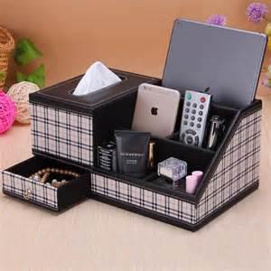home decor tissue box organizer storage box tv remote