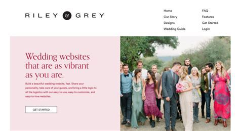 Top Five Wedding Website Builders (Updated for 2018)