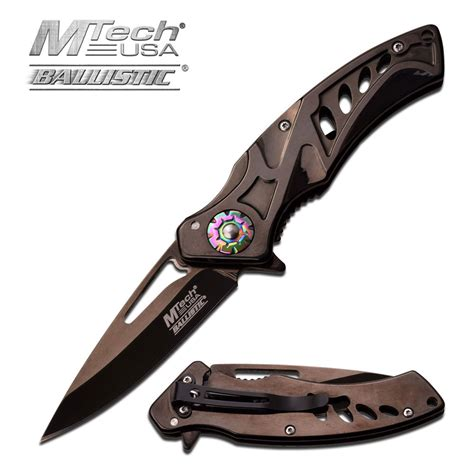 black rescue assist folding pocket knife mtech black rescue opening switch mt a917bk