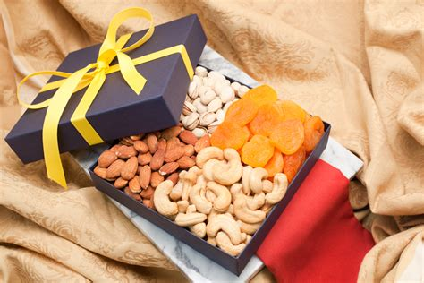 fruit gift boxes fruit and nut quattro gift box