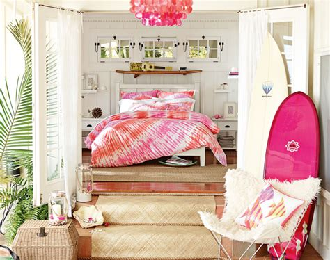 hawaiian bedroom teenage girl bedroom ideas hawaiian hideaway pbteen