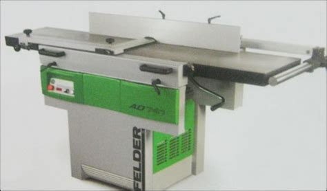 felder woodworking machines pvt ltd ad 741 planer thicknesser combination in mumbai