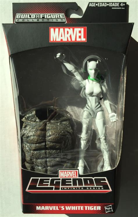 Marvel Legends Infinite Series Baf Rhino White Tiger marvel legends white tiger review photos rhino series