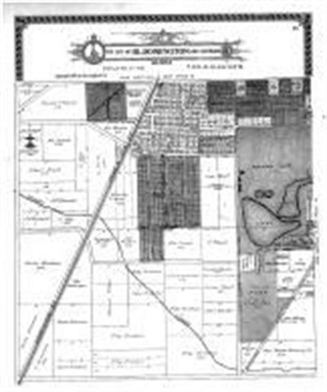 bloomington section 8 mclean county 1914 illinois historical atlas