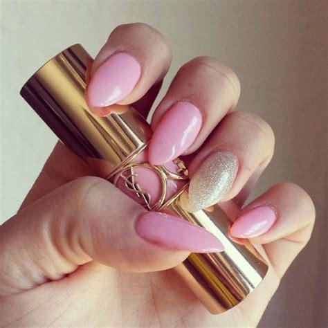 imagenes de uñas pintadas en color rosa coquetos dise 241 os para u 241 as de color rosa y dorado