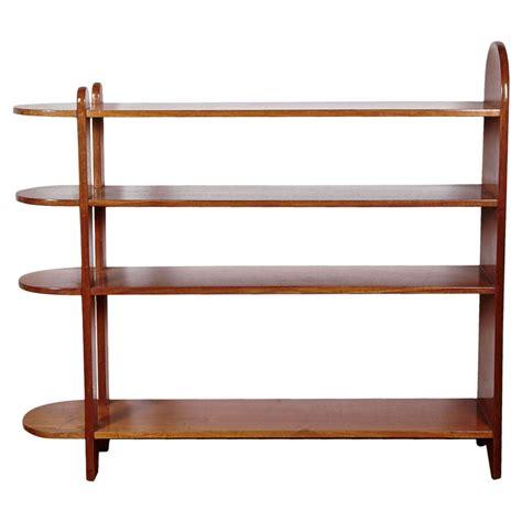 art deco mahogany shelf or bookcase by eug 232 ne printz 1932 for sale at 1stdibs