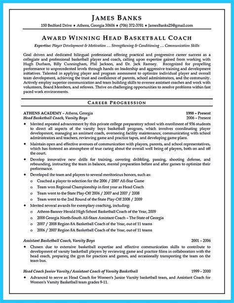 Basketball Coach Resume Track Coach Cover Letter Free Creative Sports Coach