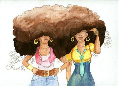 natural hairstyles cartoon island essence