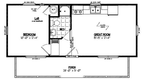 Cabins Floor Plans by Recreational Cabins Recreational Cabin Floor Plans