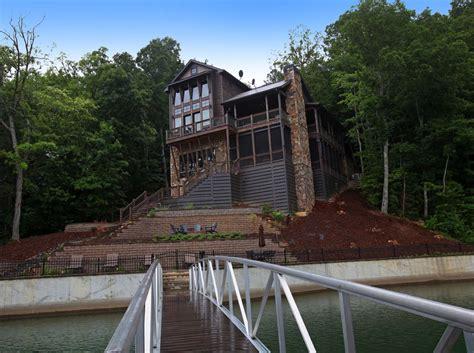 rustic modern lake house rustic lake home house plans modern rustic lake house in georgia lake bluff lodge
