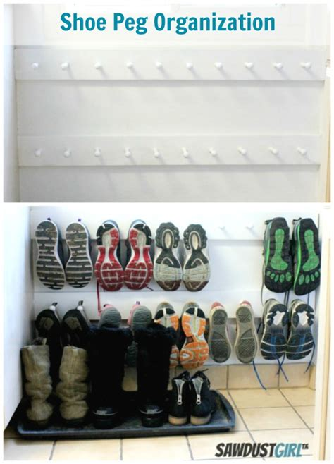 15 best shoe rack ideas images on shoe diy family shoe storage solutions andrea s notebook