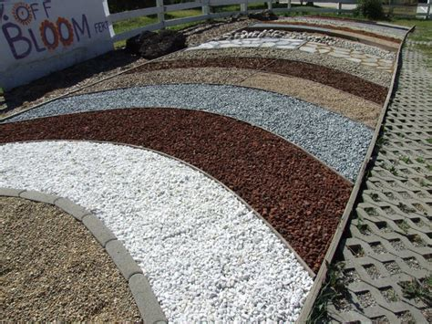 Colored Rocks For Garden Image Gallery Gravel Colors