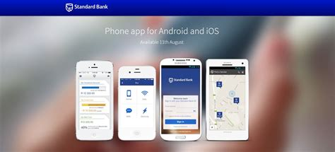 bank app standard bank s updated banking app arrives on smartphones