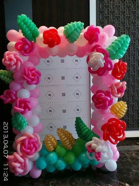 balloon flower decor balloon ideas