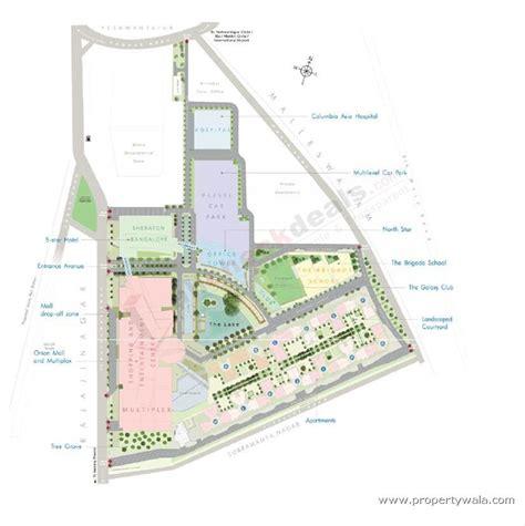 layout plan in bangalore brigade gateway rajajinagar bangalore apartment