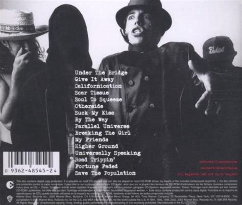 chili peppers best album chili peppers greatest hits