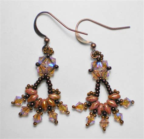 beading blogs free superduo earring pattern editors bead