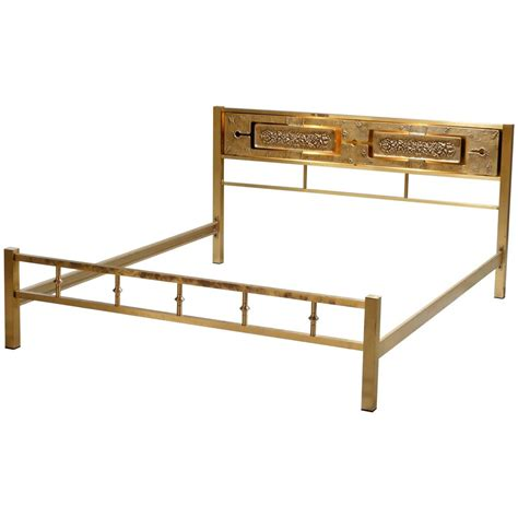 brass bed frame king size illuminated solid brass king size bed for sale at 1stdibs