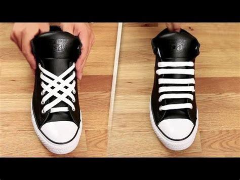 tutorial mengikat sepatu ini tips dan tutorial cara mengikat tali sepatu yang bikin