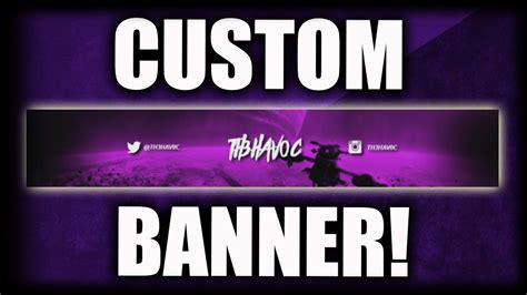 make a printable banner in photoshop how to make a youtube banner without photoshop pixlr