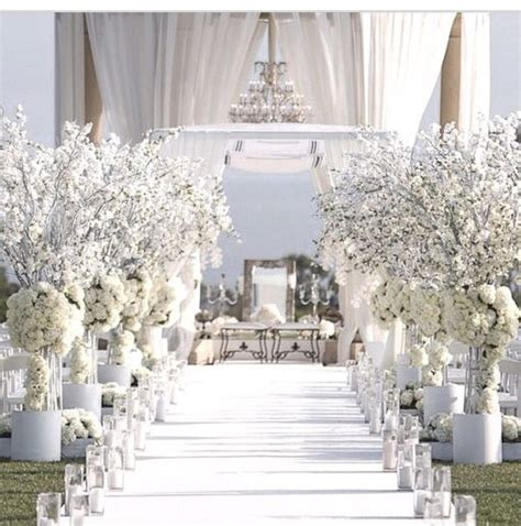 all white decor 17 best ideas about white wedding decorations on pinterest