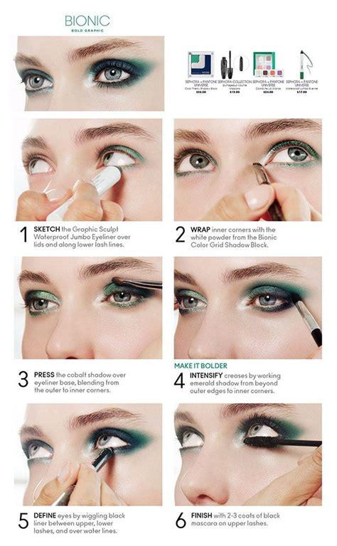 tutorial makeup smokey eyes pengantin oltre 1000 idee su trucco degli occhi blu marino su