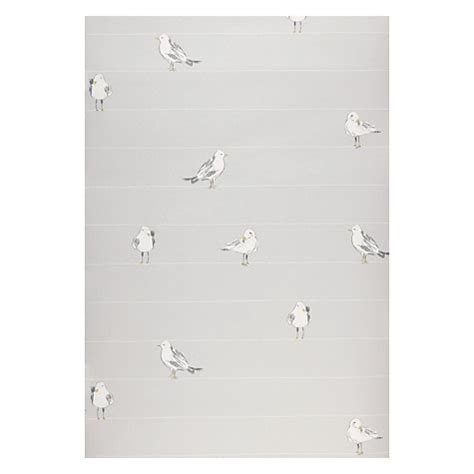grey wallpaper john lewis buy john lewis seagulls wallpaper blue grey john lewis