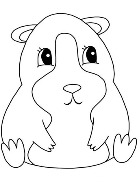guinea pig coloring pages free printable guinea pig coloring pages to download and print for free