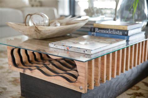 Diy Log Coffee Table Diy Hollowed Wood Coffee Table How Tos Diy
