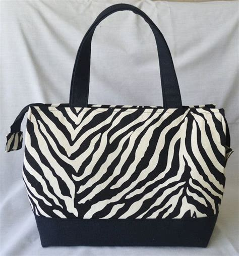 Print Insulated Lunch Bag zebra print insulated lunch bag 25 it my style