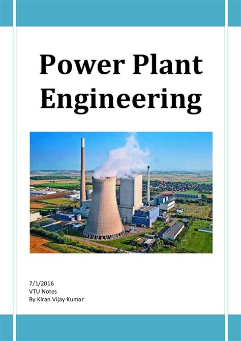 notes on power plant design prepared for the use of students in the mechanical engineering department of the massachusetts institute of technology classic reprint books power plant engineering complete five unit vtu notes pdf