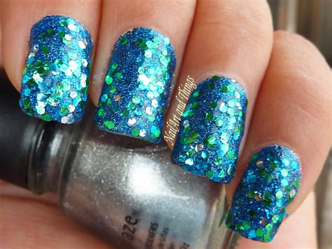Glitter Nail by Nailart And Things Glitter Glitter On My Nails Glitter Bomb