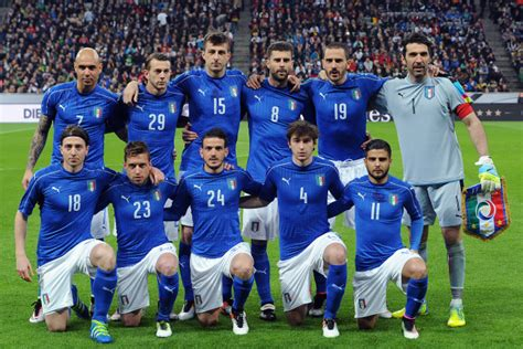 Calendrier Psg Football 2016 2016 201 Quipe D Italie Matches Pronostics R 233 Sultats
