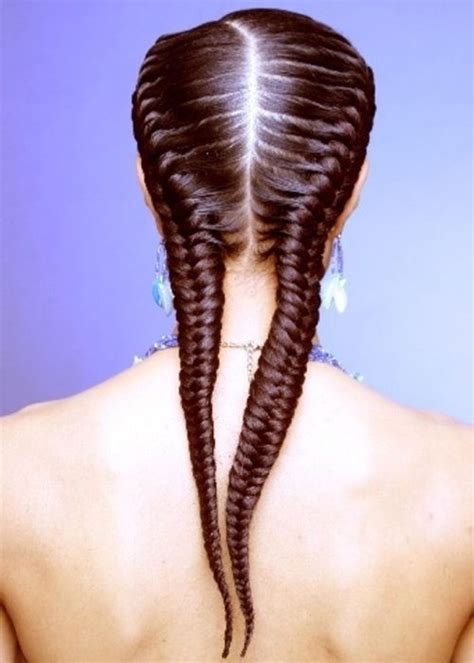 fishbone hair brsids an end off with knots fishbone hair brsids an end off with knots head turning