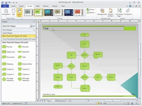 microsoft visio has stopped working 2013 visio 2010 add titles and borders from a ribbon gallery