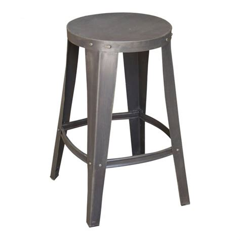 Industrial Metal Counter Stools by Industrial Metal Counter Stool 61cm Brandalley