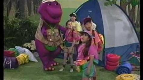 barney backyard gang previews video barney the backyard gang barney s cfire sing