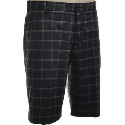 plaid shorts grey 30 smash save on nike golf s plaid black grey wolf grey 30 sport purchase price