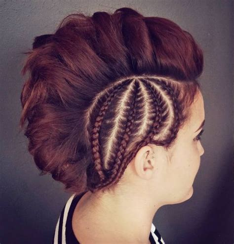 thick mohawk hairstyles 30 ultra modern braided mohawks of this season