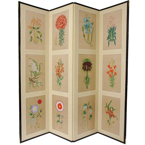 Small Room Divider 6 Ft 12 Small Flowers Room Divider Roomdividers