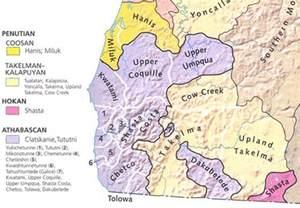oregon indian tribes map oregon indian tribes american