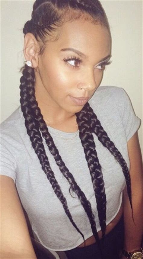 show me pictures of extensions french braids black people here 17 best images about twist braids on pinterest jumbo