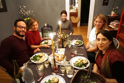 disco dinner a hearty winter pescatarian dinner emilystyle