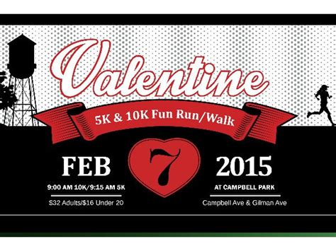 valentines 10k with from cbell 2015 10k 5k run