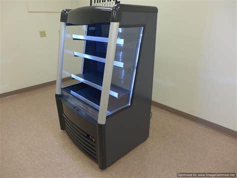 air curtain cooler aht ac w led grab n go 36 quot air curtain open cooler
