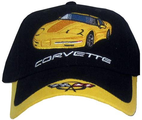chevy corvette hat colorful embroidered cap