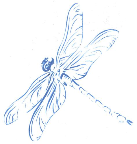 printable dragonfly stencils dragonfly stencil by freakstatic on deviantart