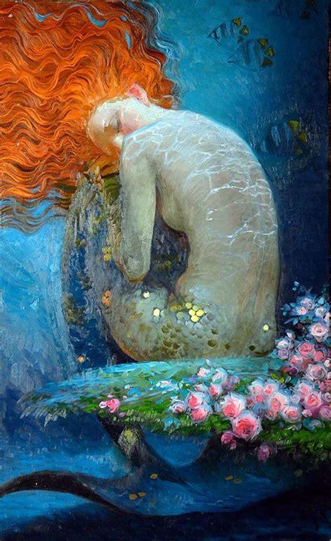 mermaid painting 17 best ideas about mermaid paintings on