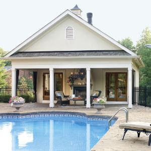 home plans with pools carriage house plans pool houses